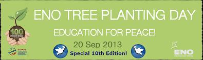 Banner del Día de Plantación de Árboles - 20 septiembre 2013